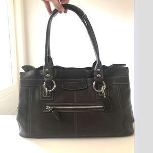 Coach Brown Penelope Leather shoulder bag